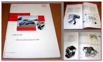 SSP 290 Audi A3 8P mit 2,0l FSI 110KW Motor 2004 Konstruktion +