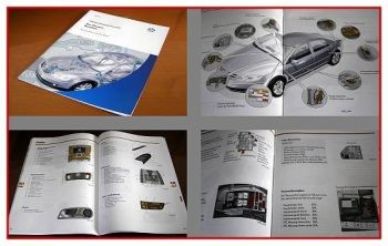 SSP 272 VW Phaeton Bordnetz Konstruktion + Funktion 2002