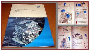 SSP 249 VW Passat B5, W8 Motor Motronoc ME 7.1.1 Konstruktion + Funktion 2001