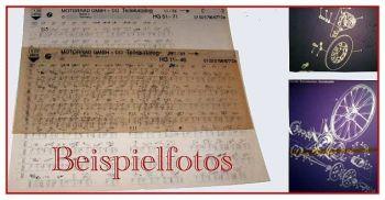 BMW K100 K100RS K100RT Ersatzteilliste Microfich 1986