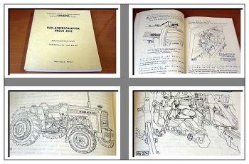 Ursus 3512 Schlepper Bedienungsanweisung 1987