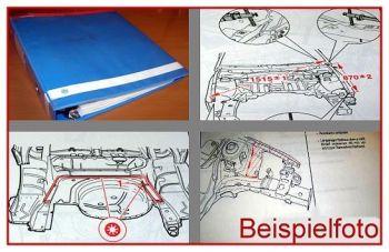 Audi 100 /77 + Avant Karosserie Reparaturhandbuch 76-80