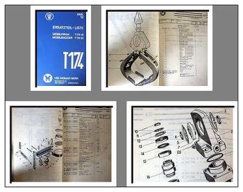 T174, T174-1 Mobilkran Mobilbagger Ersatzteilliste