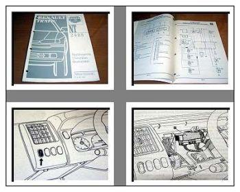 Renault Trafic Wegfahrsperre Werkstatthandbuch 1996