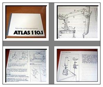 Atlas 110.1 Kran Betriebs- u. Wartungshandbuch