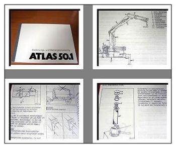 Atlas 50.1 Kran Betriebs- u. Wartungshandbuch