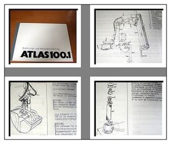 Atlas 100.1 Kran Betriebs- u. Wartungshandbuch