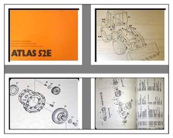 Atlas 52E Radlader Ersatzteilliste Ersatzteilkatalog