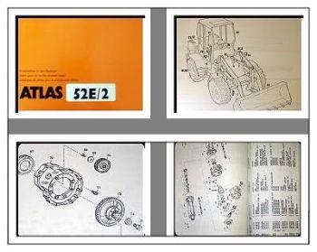 Atlas 52E /2 Radlader Ersatzteilliste