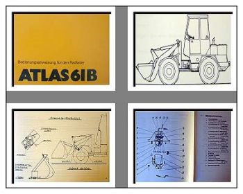 Atlas AR61B Radlader Betriebsanleitung & Wartung