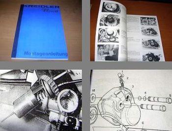 Kreidler Florett K 54 ... Montageanleitung 1978