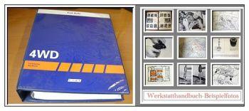 Werkstatthandbuch Fiat Tempra S.W. 4x4 4WD Reparaturanleitung 1992-93
