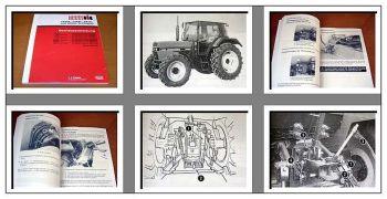 Case IHC 743 745 844 856 XL Traktor Betriebsanleitung