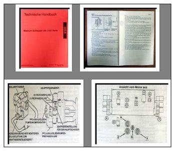 Werkstatthandbuch Case 5120 5130 5140 5150 Maxxum Datenhandbuch