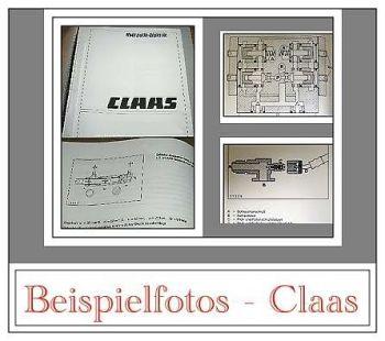 Claas Ladewagen 230 - 440K Werkstatthandbuch 1991