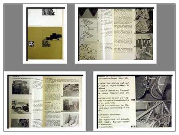 Claas Cosmos Betriebsanleitung 1968