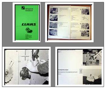 Claas Lexion Schneidwerk Werkstatthandbuch 2000
