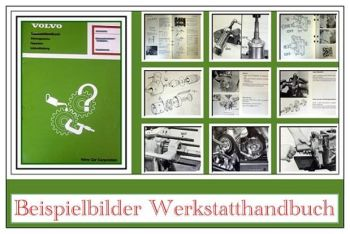 Werkstatthandbuch Volvo 740 760 780 Motor B204FT B204GT Reparatur