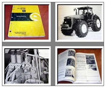 John Deere 8100 8200 8300 8400 Betriebsanleitung 1994 Schlepper Bedienung