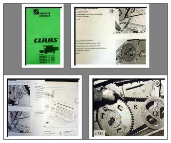 Claas Dominator 202 bis 218 Mega Werkstatthandbuch