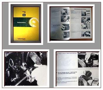 John Deere 430 Rasentraktor Betriebsanleitung 1984