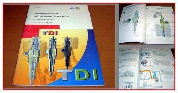 SSP 223 VW Lupo 3L Audi A2 1,2l 1,4l TDI Motor Schulung Pumpe Düse  2000