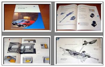 SSP 328 VW Caddy 2004 Konstruktion + Funktion Selbststudienprogramm