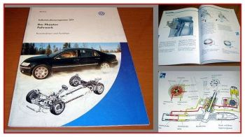 SSP 277 VW Phaeton Fahrwerk Konstruktion Funktion 2002