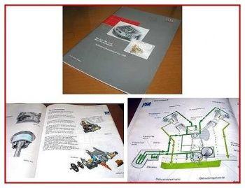 SSP 255 Audi A4 Motor 2,0 R4 + 3,0 V6 Konstruktion und Funktion