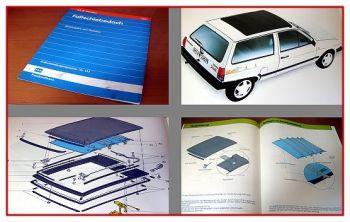 SSP 133 VW Polo Falt-Schiebedach Schulungshandbuch