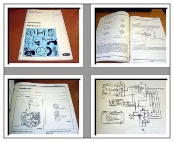 Werkstatthandbuch Ford Windstar Motorregelung Prüfanleitung mit FDS 2000 von 94