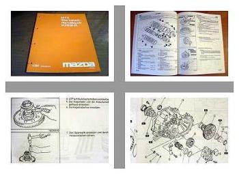 Mazda Xedos 9 Getriebe H25M-R Werkstatthandbuch