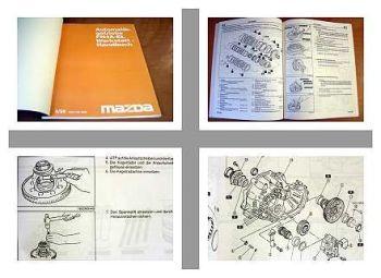 Mazda FN4A-EL Getriebe im Mazda 626 und Mazda 323 Werkstatthandbuch 1998