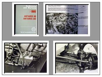 Same Antares 110, 130 Betriebsanleitung & Wartung