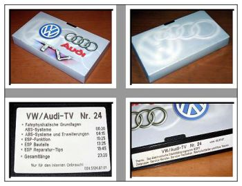 Video VW Audi-TV Nr. 24 1997 ABS ESP