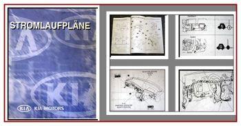 Werkstatthandbuch Kia Joice 2002 Stromlaufpläne Elektrik Verkabelung Schaltpläne