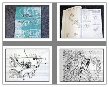 Kia Rio 2000 Werkstatthandbuch Workshop manual