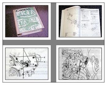 Reparaturanleitung Kia Carens Werkstatthandbuch 2000 - 2002