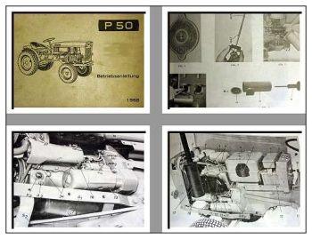 Holder P50 Park 50 Schlepper Betriebsanleitung