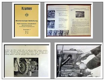 Kramer KL 200 KLS 140 KW 160 Bedienung Kraftheber