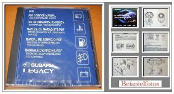 Subaru Legacy 2002 Fahrzeugvorstellung CD Schulungshandbuch Werkstattpersonal