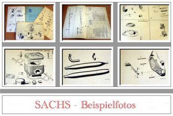 Sachs Stamo 125, 150 Ersatzteilkatalog 1973