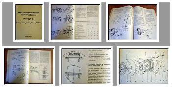 Zetor 4911 5911 5945 6911 6945 Werkstatthandbuch 1979