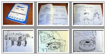 Reparaturhandbuch Zetor 9520 9540 Traktor Werkstatthandbuch