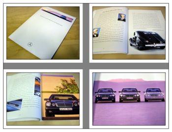 Mercedes Benz E-Klasse Limousinen techn. Vorstellung