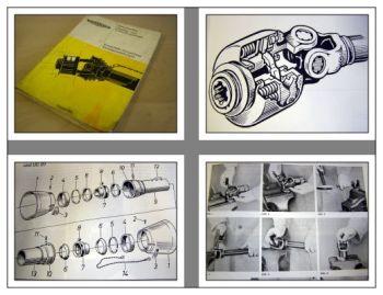 Walterscheid Gelenkwellen Überlast und Freilaufkupplungen Werkstatthandbuch 1964