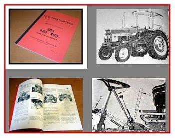 IHC / Mc Cormick 383, 423, 453 Betriebsanleitung 1972