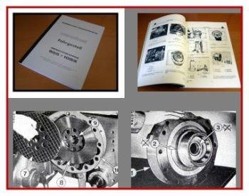 IHC 955 1055 Werkstatthandbuch Fahrgestell 1978