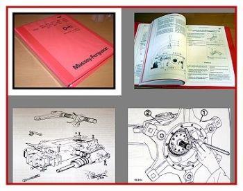 Reparaturanleitung Massey Ferguson Serie 303, 303S, 307 Werkstatthandbuch
