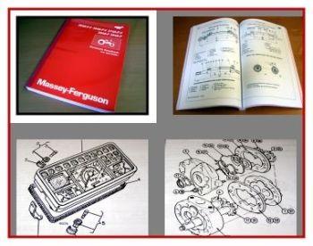 Massey Ferguson MF 354 MF 364 MF 374 MF 384 MF 394 S - F - V Reparaturhandbuch